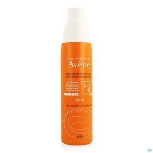 Sun SPF 50+ spray do opalania 200ml