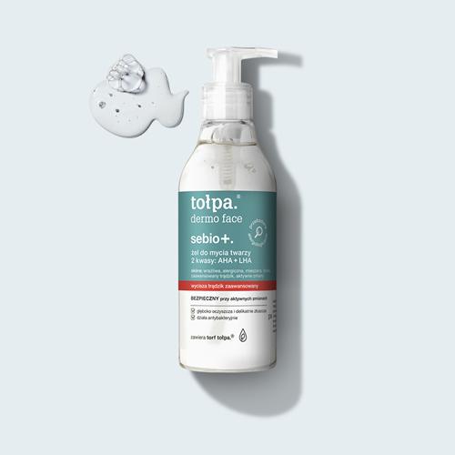 Tołpa Żel do mycia twarzy 2 kwasy: AHA + LHA