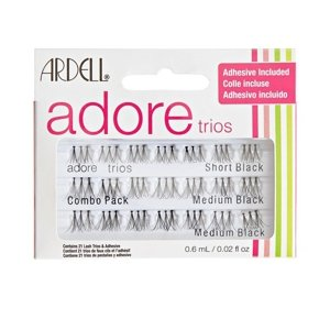 Ardell Adore kępki Individual Combo Trios Black