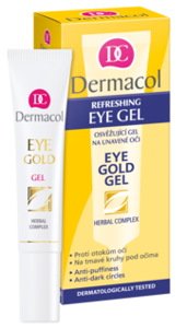Dermacol Eye Gold Żel pod oczy 15 ml