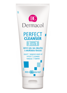Dermacol Perfect Cleanser 3w1 Żel do mycia twarzy 100 ml