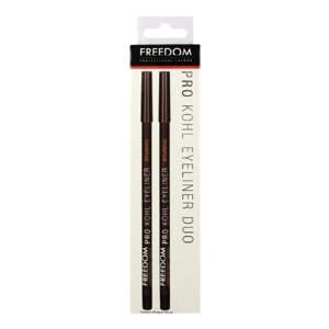 Freedom Makeup London Pro Kohl Eyeliner Duo Black