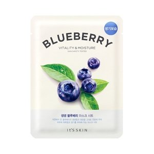 IT'S SKIN Fresh Mask Sheet Wybielająca BLUEBERRY