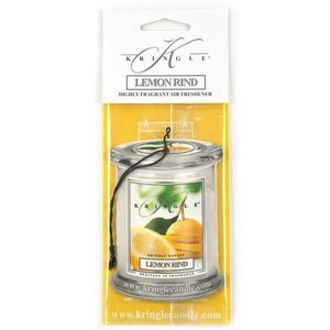 Kringle Candle Air Freshener Zapach do samochodu Lemon Rind