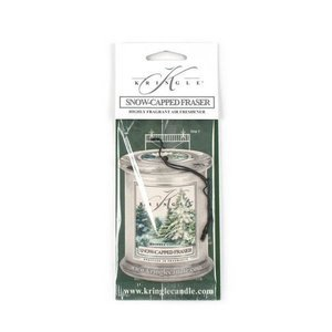 Kringle Candle Air Freshener Zapach do samochodu Snow Capped Fraser