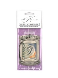 Kringle Candle Air Freshener Zapach do samochodu Vanilla Lavender