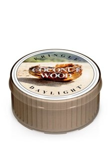 Kringle Candle Coloured Daylight Świeczka zapachowa Coconut Wood