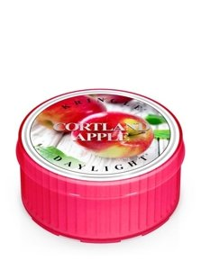 Kringle Candle Coloured Daylight Świeczka zapachowa Cortland Apple