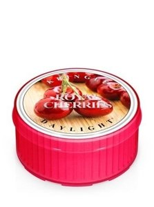 Kringle Candle Coloured Daylight Świeczka zapachowa Royal Cherries