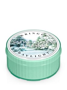 Kringle Candle Coloured Daylight Świeczka zapachowa Snow Capped Fraser