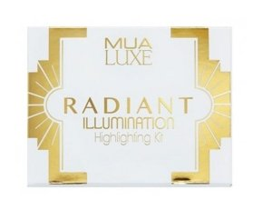 MUA Luxe Radiant Illumination Highlighting Kit Paleta Rozświetlaczy