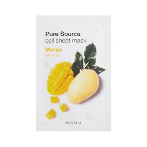 Missha Pure Source Cell Sheet Mask Mango Maseczka w płacie Mango