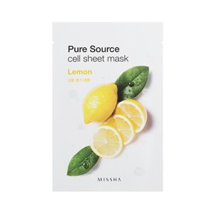 Missha Pure Source Cell Sheet Mask Maseczka w płacie Lemon