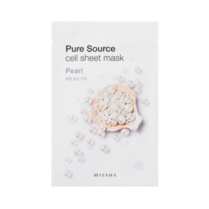 Missha Pure Source Cell Sheet Mask Maseczka w płacie Pearl