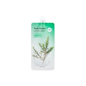 Missha Pure Source POCKET PACK Maseczka do twarzy na noc TEA TREE