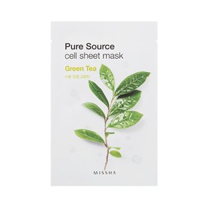Missha Pure Source Sheet Mask Maseczka w płacie Green Tea