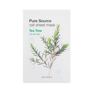 Missha Pure Source Sheet Mask Maseczka w płacie Tea Tree