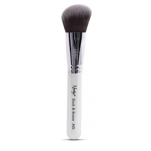 Nanshy Angled Brush - Blush&Bronze White A01 Pędzel do konturowania