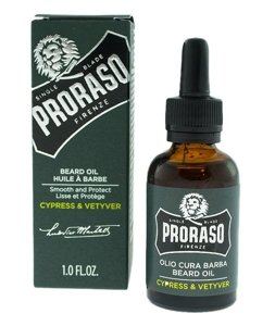 Proraso Beard Oil Cypress & Vetyver Olejek do brody 30ml