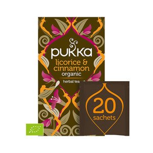 Pukka Herbata Licorice & Cinnamon