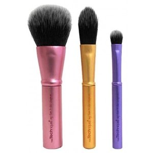 Real Techniques Mini Brush Trio Zestaw mini pędzli do makijażu