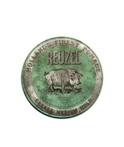 Reuzel Green Grease Medium Hold Piglet Woskowa pomada do włosów 35g