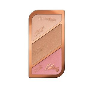 Rimmel Kate Sculpting&Highlighting Kit Paletka do konturowania 01 Golden Sands