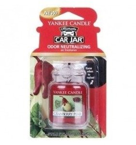 Yankee Candle Car Jar Ultimate Zapach do samochodu Cranberry Pear