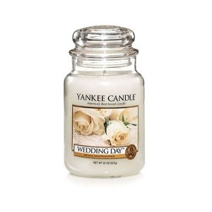 Yankee Candle ŚWIECA W SŁOIKU DUŻA Wedding Day
