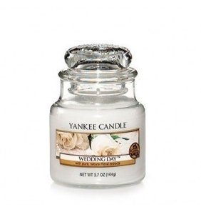 Yankee Candle ŚWIECA W SŁOIKU MAŁA Wedding Day