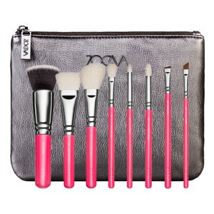 ZOEVA PINK ELEMENTS Classic Brush Zestaw 8 pędzli
