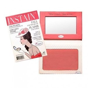 theBalm Instain róż do policzków Swiss Dot peach