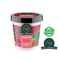 Organic Shop Body Desserts Antystresowa piana do kąpieli Candy Floss BD29