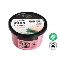 Organic Shop Scrub do stóp Lotus&Sugar OS52