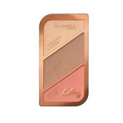 Rimmel Kate Sculpting&Highlighting Kit Paletka do konturowania 02 Coral Glow