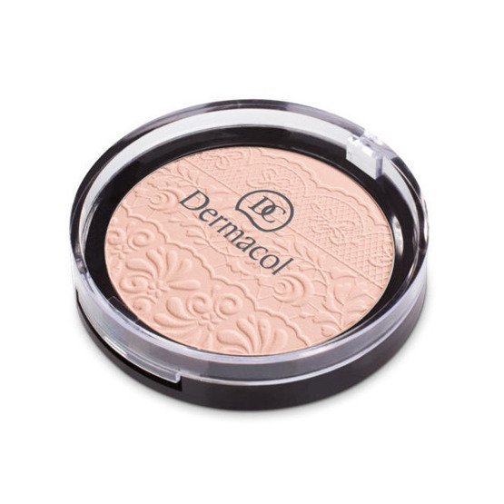 Dermacol Lace Relif Puder w kompakcie 01