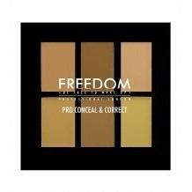 Freedom Makeup Paleta korektorów Light-Medium