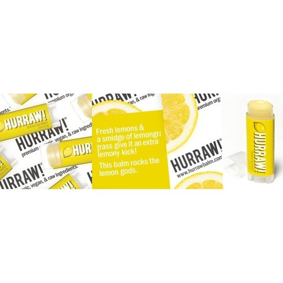 Hurraw! Balsam do ust Lemon