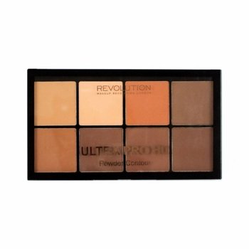 Makeup Revolution HD Pro Powder Contour PUDROWA paleta do konturowania MEDIUM-DARK