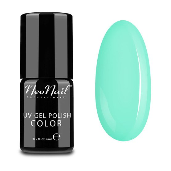 NeoNail Candy Girl Lakier hybrydowy Summer Mint 6 ml