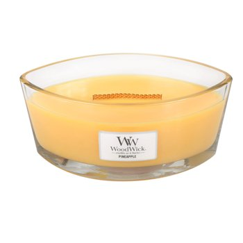 WoodWick Świeca Heartwick Pineapple
