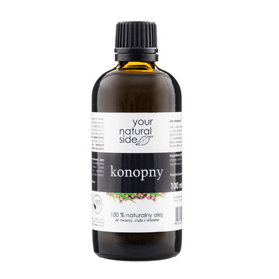Your Natural Side Olej Nierafinowany KONOPNY 100ml