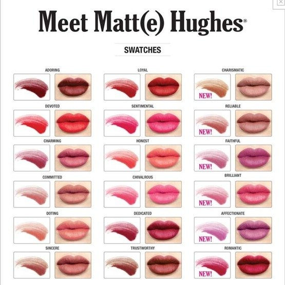 theBalm Meet Matt(e) Hughes Matowa szminka do ust Sentimental