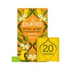 Pukka Herbata Lemon, Ginger & Manuka Honey